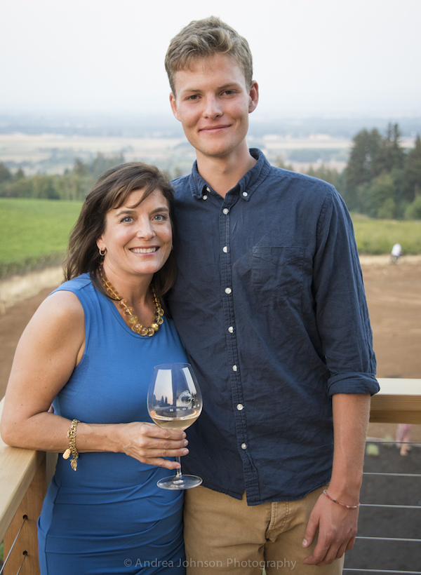 Brooks new winery industry party, Eola Hills, Amity, Oregon