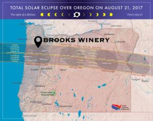 Solar Eclipse at Brooks @ Brooks Winery
