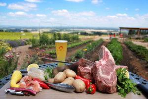 BBQ Class – Texas Cowboy Steaks @ Brooks Winery